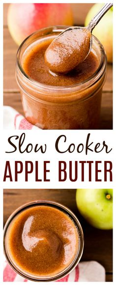 Apple Butter Uses, Apple Butter Canning, Slow Cooker Apples, Slow Cooker Recipes, Crockpot Recipes, Apple Recipes, Fall Recipes, Christmas Recipes, Dip Recipes