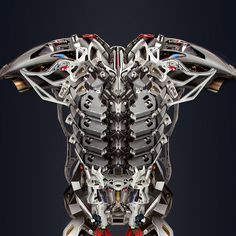 Armor Exyle - Concept for an upcoming scifi film by Cristiano Rinaldi Iron Man Suit, Iron Man Armor, Cyberpunk, Suit Of Armor, Body Armor, Android Robot, Armor Concept, Concept Art, Arte Robot