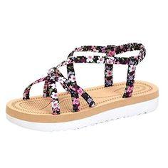 Oferta: 7.9€. Comprar Ofertas de LANDFOX Las mujeres de moda de verano Flip Flops Playa sandalias bandas de cuerda plana zapatos (38, Rosado) barato. ¡Mira las ofertas!