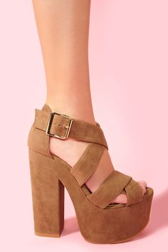 O M G!! I want these but in black :(  Shadow Platform - Taupe