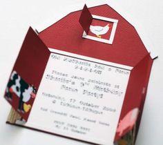 Barn invitation