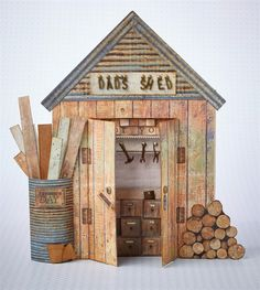 Most men can't resist tinkering around in the shed… This one may be small, but will hopefully make a big impression.