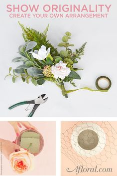 Create your own arrangement by shopping at Afloral.com.