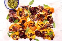 It sounds messy, but this fast and tasty meal is perfect as a quick bite for the kids. Cooking Avocado, Root Vegetables, Cooking Oil, Avocado Oil, Sea Salt, Cheddar Cheese, Paella, Pesto, Sweet Potato