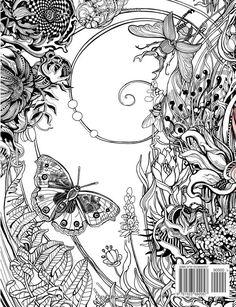 Manic Botanic: Zifflin's Coloring Book: Amazon.de: Zifflin, Irina Vinnik: Fremdsprachige Bücher