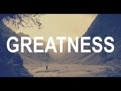 Motivational Quotes : Don't Wait For Greatness – Create It Good Motivation, Morning Motivation, Student Motivation, Matt Morris, Motivational Videos Youtube, Tens Place, 30 Challenge, Inspirational Videos, Great Quotes