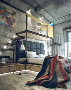 Maxim Zhukov Loft Possibly the coolest room i've ever seen oh my goodness