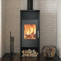 8KW Phoenix Wood Burning Stove | Buy Modern Wood Burning Stoves Online | UK Stoves