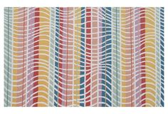 5x8 Swell Outdoor Rug, Multi