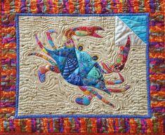 Applique Quilt Patterns, Mug Rug Patterns, Fabric Patterns, Sewing Patterns, Lap Quilts, Mini Quilts, Quilt Blocks, Nancy Zieman, Beach Quilt