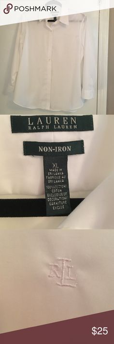 Lauren by Ralph Lauren boys shirt NWOT boys Ralph Lauren button down shirt, perfect for boys who like style, or when they have no choice but to get dresses up...bundle and save 🎶 Lauren Ralph Lauren Tops Button Down Shirts