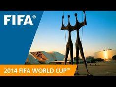 Única! É assim que a Fifa apresenta nossa capital Brasilia para o  mundo! World Cup Host City: Brasilia Jamilcredi Consignados na torcida!