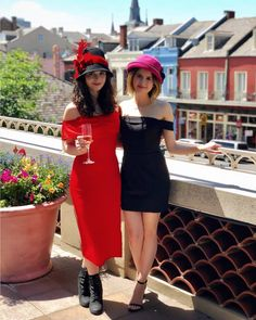 Laura Marano looking adorable in her pink chapeau - with Vanessa