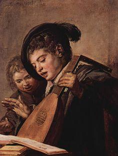 TICMUSart: Two Boys Singing - Frans Hals (1625) (I.M.)