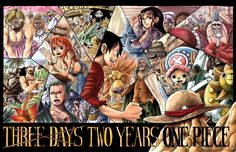 Three Days Two Years One Piece by ~e1n on deviantART