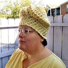 Unusual Gifts Unique Gift for Women Crochet Beanie Women Crochet Hat Womens Hat Cream Hat SWIRL Beanie Hat Swirl Hat by strawberrycouture by on Crochet Hat With Brim, Crochet Beanie, Crochet Hats, Unique Gifts For Women, Unusual Gifts, Cream Hats, Yarn For Sale, Craft Patterns, Diy Crochet