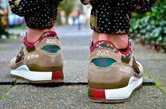 Asics Gel Lyte III Aztec. #sneakers