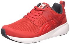Puma Aril, Unisex-Erwachsene Sneakers, Rot (high risk red-white 09), 44.5 EU (10 Erwachsene UK) - http://autowerkzeugekaufen.de/puma/44-5-eu-puma-aril-unisex-erwachsene-sneakers-grau-7-7