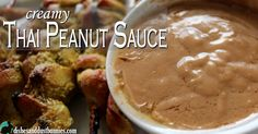 Yesterday I shared my recipe for Thai Chicken Satay Skewers, so today I'm sharing with you my deliciously creamy Thai peanut sauce to go with it! Thai peanut sauce is a tasty and creamy dip that usually accompanies Thai meat dishes or appetizers such as chicken satay. The sauce is made of a combination of …