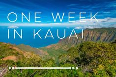 ThIs one -  one week in kauai itinerary