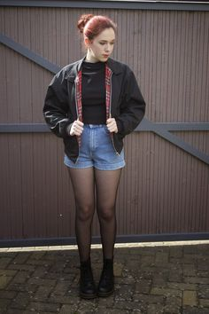 Anna Peony: OUTFIT >> Bomber Jacket in Spring