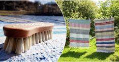 Det bästa du kan göra för din matta om du vill tvätta den är att såpskura på gammalt vis.