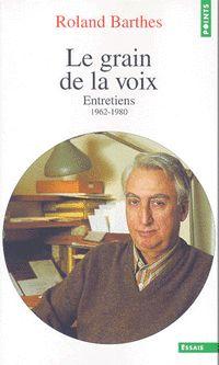 Roland Barthes chez Points
