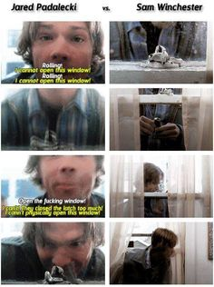 Jared Padalecki VS Sam Winchester