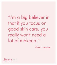 AMEN!! My goal is to be makeup-free by the end of this year {except for mascara and lip gloss, of course!}. So thankful that Rodan + Fields is helping me achieve that goal!