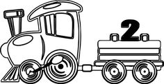 Free, nice Fast Toy Train Coloring Page printable coloring book pages, connect the dot pages and color by numbers pages for kids. Airplane Coloring Pages, Train Coloring Pages, Coloring Sheets For Kids, Coloring Pages For Boys, Free Printable Coloring Pages, Coloring Books, Toy Trains For Kids, Train Clipart, Train Drawing