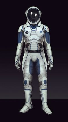 Space suit , Sam  Brown on ArtStation at http://www.artstation.com/artwork/space-suit-fbbe2540-9178-4104-889f-97f6b6bca19f: