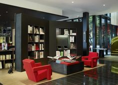 More from the citizenM hotel London http://www.nest.co.uk/browse/brand/cassina/cassina-utrecht-armchair