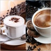 coffee and coffee beans definition picture