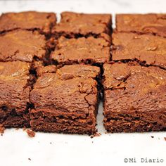 Delicious and simple Nutella brownie recipe, ideal especially for the little ones. It only requires 3 ingredients! Nevada, Oatmeal Flour, Nutella Brownies, Simply Recipes, Few Ingredients, Homemade Cakes, Brownie Recipes, Snack, Dory
