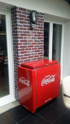 coca cola majestic ice cooler cocacola glaci re. Black Bedroom Furniture Sets. Home Design Ideas