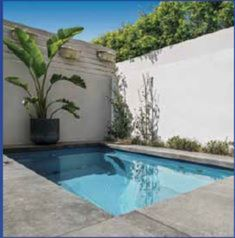 3m x 1.9m Courtyard Pool Kit with Lifetime Structural Warranty