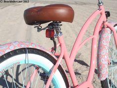 "sixthreezero LIMITED EDITION Paisley Single Speed, Coral Pink - Women's 26"" Beach Cruiser Bike,"