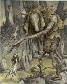 """Trolls Artwork"" by Brian Froud. Trolls Exhibition"