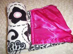 Girls Baby Blanket by LillyBellsBowtique on Etsy, $28.00