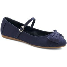 Avoir, Être, Faire Flat in Glamor ($30) ❤ liked on Polyvore featuring shoes, flats, bows, zapatos, bow shoes, synthetic shoes, bow flats, flat pumps and flat pump shoes