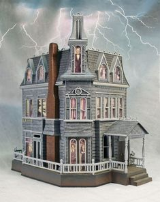 The Addams Family House - want this as a dollhouse