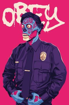 OBEY Art Print by Mike Wrobel