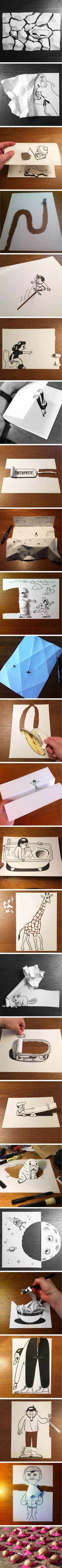 Бумажное волшебство / Бумага и карандаши (скрапбукинг, оригами, и т.д.) / ВТОРАЯ УЛИЦА