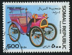 Somali Stamp, 1997