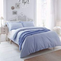 Helena Springfield Hartley Coordinated Bedding Blue