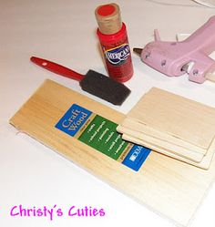 Tutorial on a couch for Barbie's House.  Christy's Cuties: Barbie's House {Living Room}