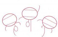 how to draw the powerpuff girls step 1