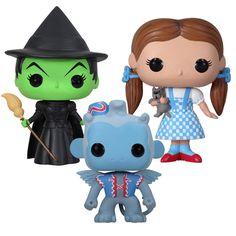 POP Vinyl Wizard Of #Oz Set #fanart