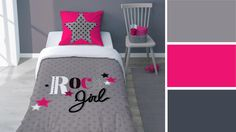 photo chambre fille rose | chambre à coucher design | Decoracion ...