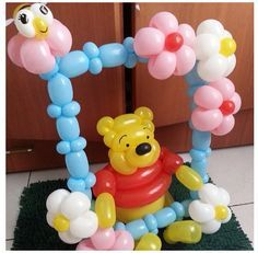 balloon twisting winnie the pooh characters - Google Search